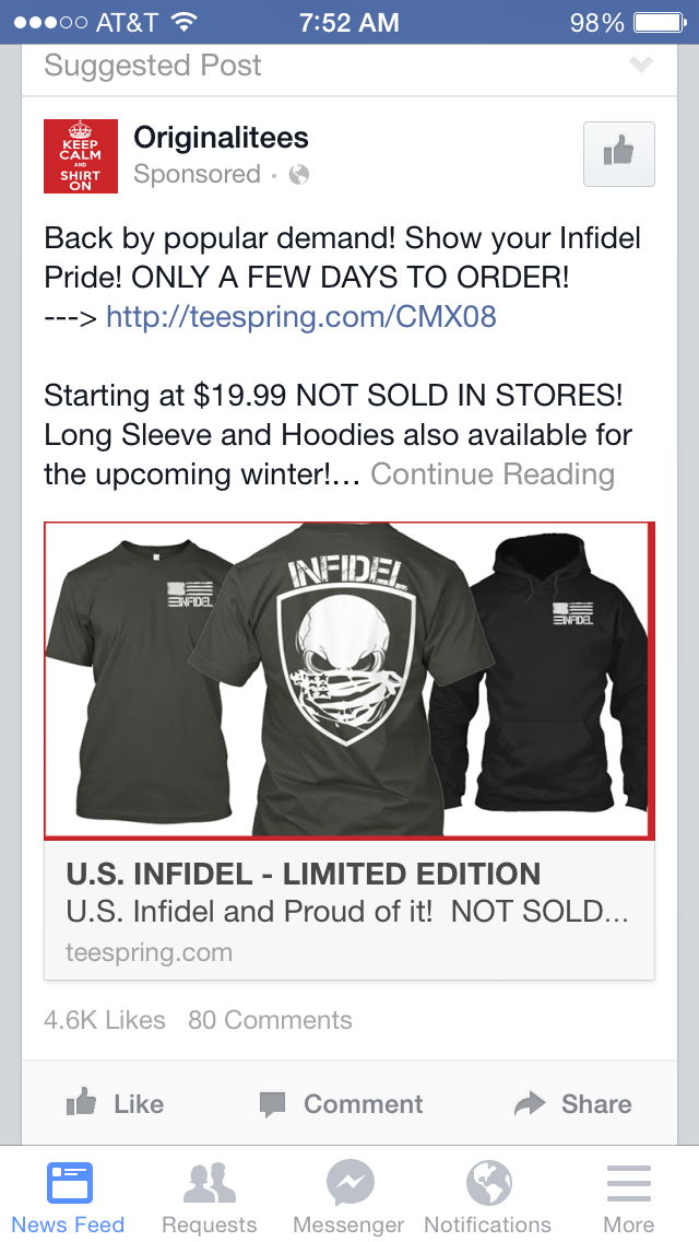How to create passive income through for T shirt ads on facebook
